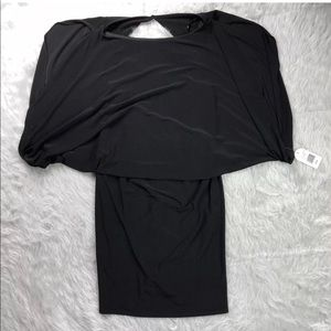 Jessica Simpson size 12 black cocktail dress
